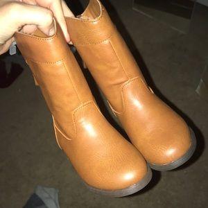 TODDLER chestnut boots